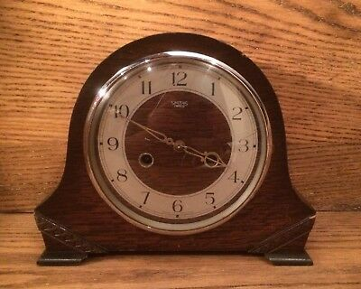 Vintage Smiths Enfield Mantel Carriage Clock Collectible Restoration Project