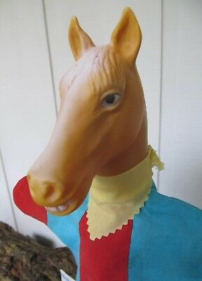 Vintage 1960's TV's MR. ED The Talking Horse HAND PUPPET Knickerbocker EXCELLENT