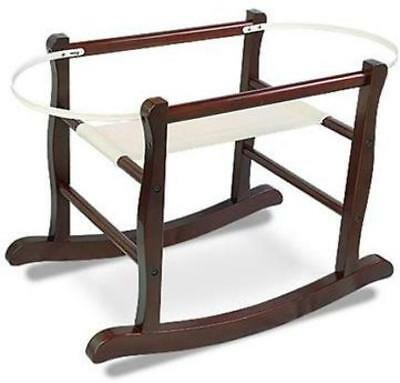 Rocking Moses Basket Stand, JOLLY JUMPER, Espresso