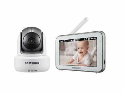 Samsung Touch SEW3043W Brightview HD Baby IR Night Vision Video Monitor System
