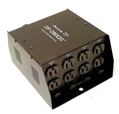 American DJ PP-DMX20 4 Channel DMX Power Pack | Made in USA (New!)