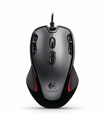 Logitech G300 Wired Optical Gaming Mouse with 9 Programmable Controls