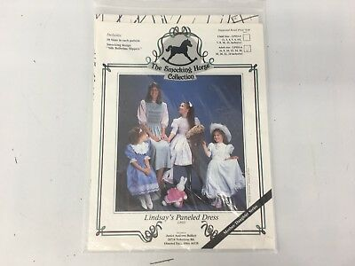 Lindsay's Paneled Dress The Smocking Horse Collection Pattern