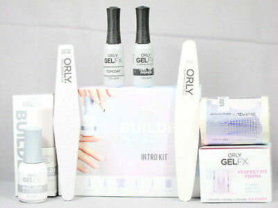 ORLY GEL FX Builder In A Bottle INTRO KIT Soak-Off Sculpting Gel Nail Acrylic
