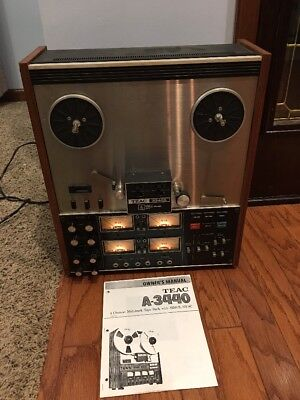 VINTAGE TEAC 3340S Multitrack 4 Channel Reel to Reel Recorder Simul-Sync