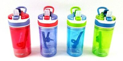 GENUINE Contigo Kids 2-in-1 Drink + Snack Spill Proof Bottle (Choose Color) NEW