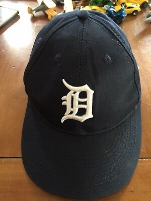 sale retailer 57b33 635ef ... italy detroit tigers mlb oc sports hat cap solid blue d logo team  adjustable youth 22e9f