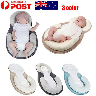 Newborn Infant Anti Roll Pillow Positioner Cushion Baby Care Pillow Bed Pad