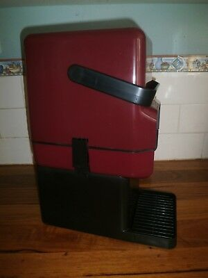 Decor Insulated Wine Cask Cooler Carrier & Bar Stand ~ Vintage Retro