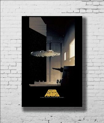 P-754 Art Star Wars a New Hope Classic Movie Film LW-Canvas Poster - 21 24x36in