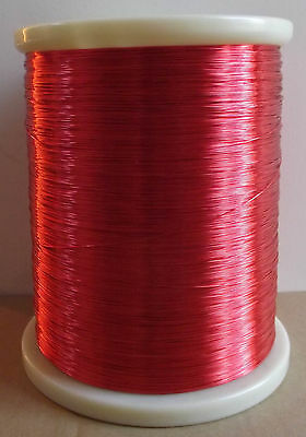 polyurethane Enameled Copper Wire Magnet Wire 2UEW/155 0.29mm Red #AC63 LW