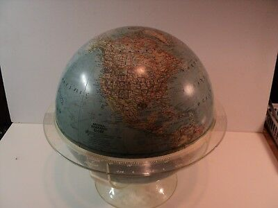 Vintage National Geographic Globe, 1961, 12 inches Diameter, NICE