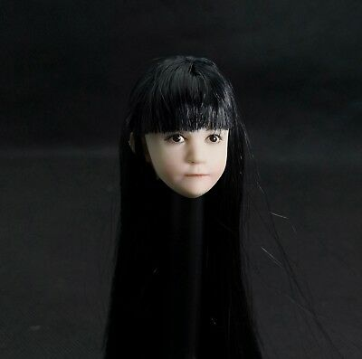1/6 Scale Lovely Child Head Sculpt Little girl Head Model Toy For figure body