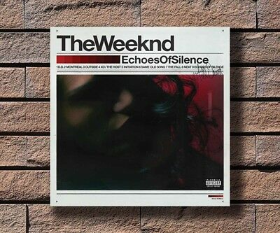 "The Weeknd Album Poster Echoes Of Silence Music Cover Print 12x12/"" 24x24/"" 32x32/"""