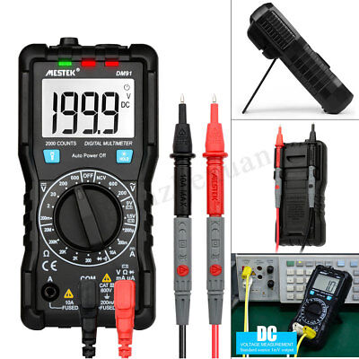 DM91 Mini Multimeter Digital 2000 Counts Tester NCV True RMS Auto Range