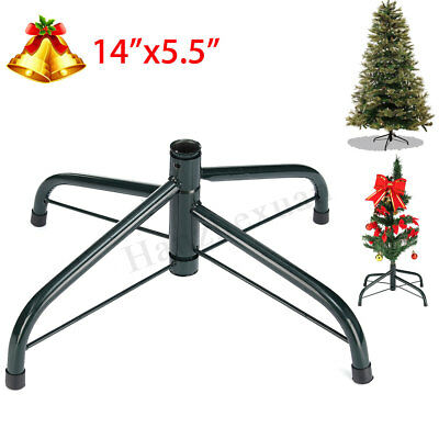 1/2/3X 6FT Folding Christmas Tree Stand Cast Iron Metal Holder Base Party