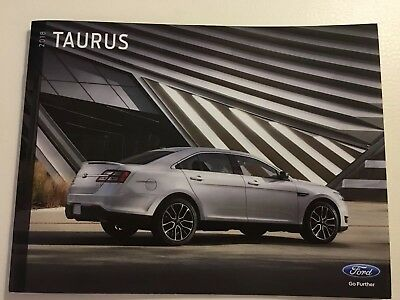 2018 FORD TAURUS 20-page Original Sales Brochure