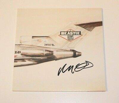 The Beastie Boys Mike-D Signed 'Licensed To Ill' Vinyl Album Record Lp Coa Proof