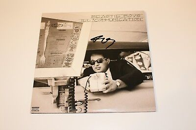THE BEASTIE BOYS MIKE-D SIGNED 'ILL COMMUNICATION' VINYL ALBUM RECORD LP w/COA