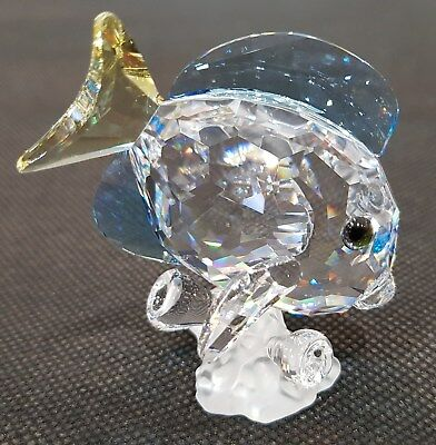 SWAROVSKI SCS Blue Tang Fish, Coloured (886180)