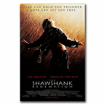 E3194 Art THE SHAWSHANK REDEMPTION Movie 1994 Tim Robbins RARE Poster Hot Gift