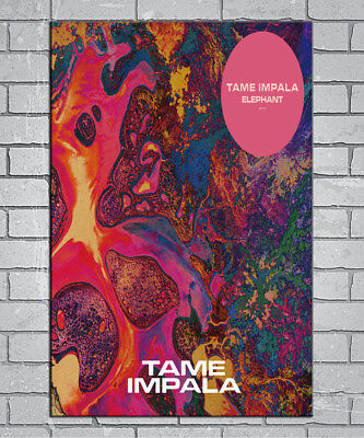 E115 Art Tame Impala Psychedelic Rock Music 18 24x36inch Poster New Gift