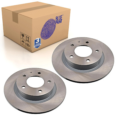 QH BDC5589 Rear Axle Solid Pair of Brake Disc