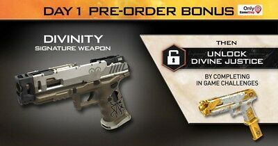 Call Of Duty Black Ops 4 Divinity Gun DLC (PS4 XBONE PC) Preorder