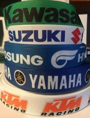 Motorbike Grosgrain Ribbon select design in the drop down box sold by 2M Each