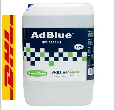 Greenchem AdBlue for ALL Vehicles from 10L  Litre DHL Postage Ad Blue