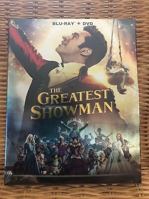 The Greatest Showman Blu Ray 2018 DVD Brand New Fast And Free Shipping