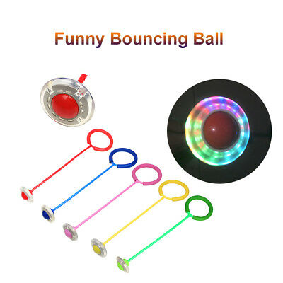 Funny Bouncing Skip Balls Jump Ropes Children Fitness Playing Toys C1U3