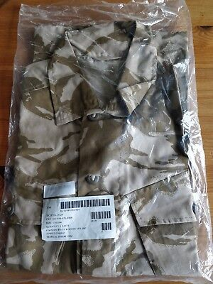British Army Issue Desert DPM Light Weight Tropical Jacket 180/104 (New)