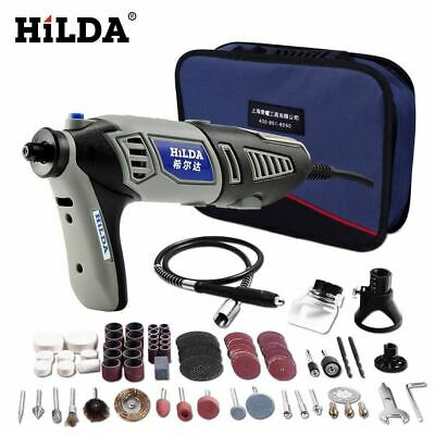 HILDA 220V 180W Dremel Style Electric Rotary Power Tool Mini Drill with Flexible