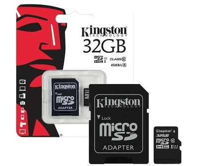Kingston MicroSD Speicherkarte 32GB für Samsung Galaxy S2 S3 S4 S5 Mini Micro SD