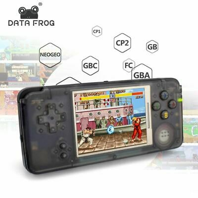 Data Frog Retro Handheld Game Console 3.0 Inch Console Built-in 3000 Classic Gam