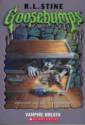 Goosebumps: Vampire Breath by R. L. Stine 2006, PB Un-numbered Embossed