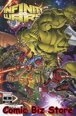 Infinity Wars #5 (Of 6) (2018) 1St Printing Garron Connecting Variant Cover