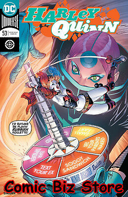 Harley Quinn #53 (2018) 1St Printing March Main Cover Dc Universe