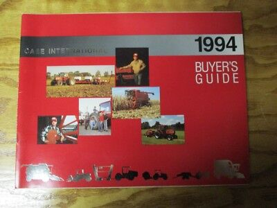 Vintage Case IH 1994 Agriculture Equipment Buyer's Guide AE-053014