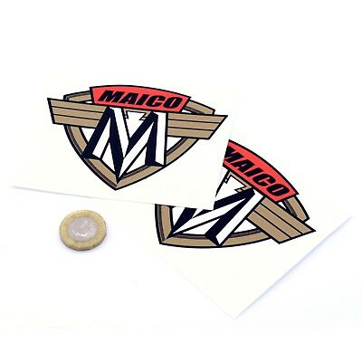 Maico Motorcycles Badge Sticker Decal Vinyl Motorbike STICKERS 100mm x2