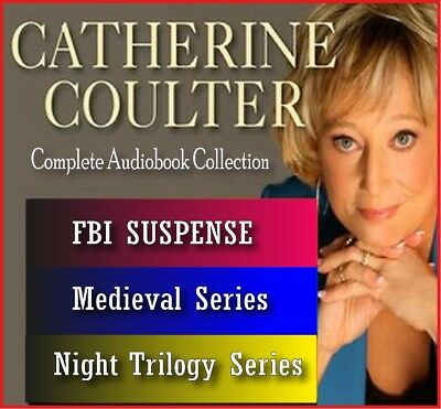 27 AUDIOBOOKS – Catherine Coulter Audiobook Collection MP3-DVD