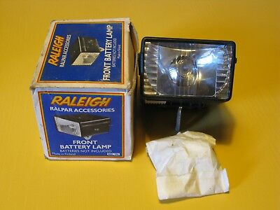 Raleigh Front Lamp, New-Old-Stock, Part No. ABL196, in original box.
