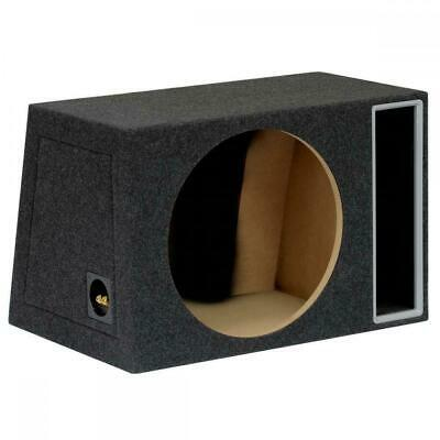"15"" 38cm MDF Black Port Car Audio Speaker Sub Subwoofer Bass Box Enclosure 70L"