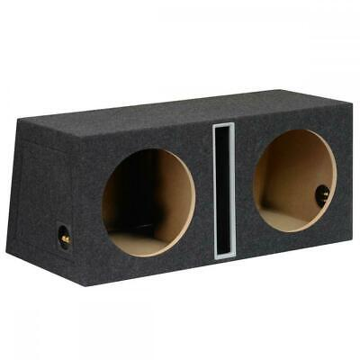 "12"" 30cm MDF Twin Port Car Audio Speaker Sub Subwoofer Bass Box Enclosure 100L"