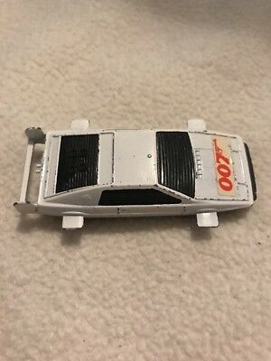 Corgi Juniors JAMES BOND 007 LOTUS ESPRIT Diecast Car Vintage 1977