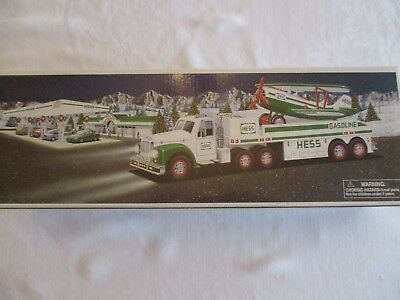 2002 Hess Truck - Toy Truck And Airplane - New In Box