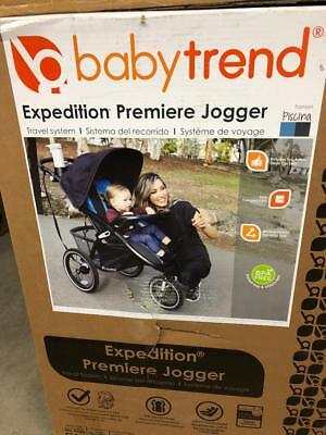 Baby Trend Expedition Jogger Stroller Travel System Piscina Blue Infant Car Seat