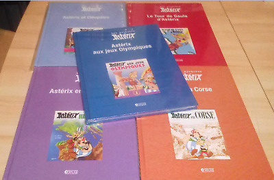 ASTERIX - les archives lot de 5 albums / NEUF
