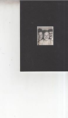 Vintage 1940's extra large photo booth photo